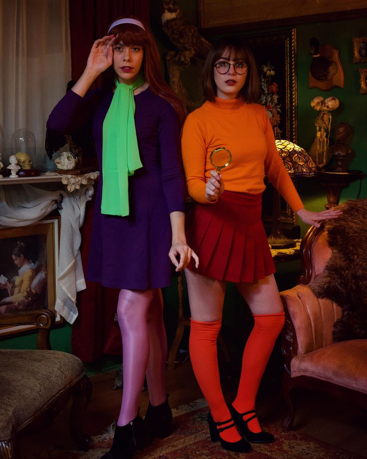[self] Daphne and Velma cosplay done by RachieMac and