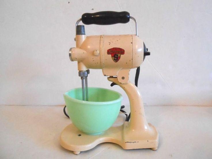Vintage 1930 S Sunbeam Mixmaster Junior Toy Stand Mixer