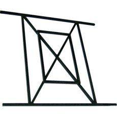 Grille de défense pour fenêtre, série Aquilon, Haut. 65 x larg. 70 cm