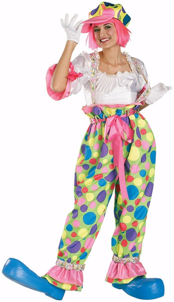Clown Costumes for Women | Female Clown Costume - Women's Rental Quality Clown Costume