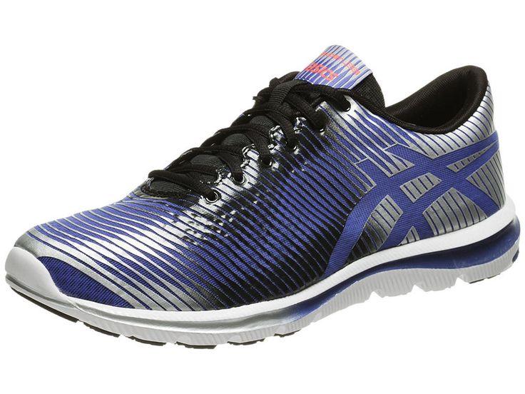 NEW ASICS GEL SUPER J33 Running MENS 11.5 Blue Silver NWT #ASICS #Athletic