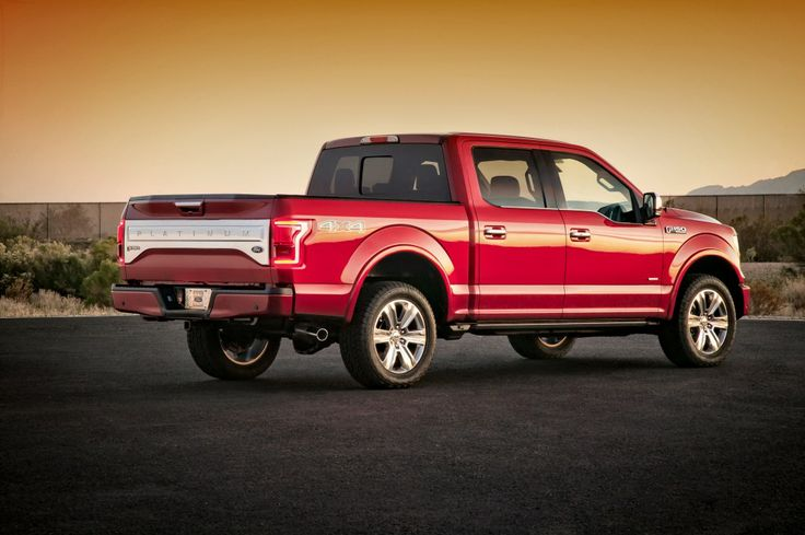2015 Ford F-150: 2.7-Liter EcoBoost & 700-Pound Weight Loss