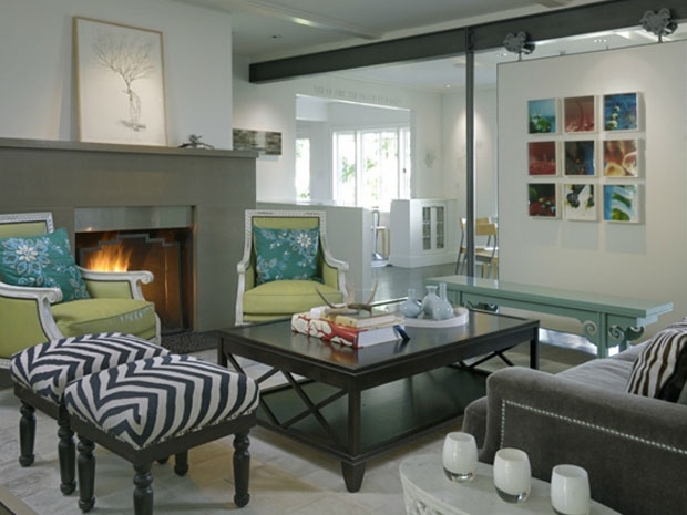 Photo Of White Contemporary Living Room Project In Seattle WA By Graciela Rutkowski Interiors