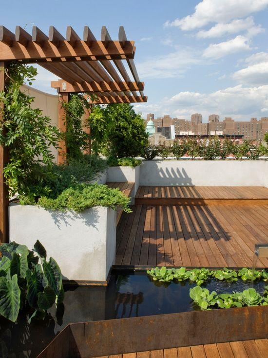 Laat je inspireren voor een sfeervol terras of balkon verbouwing - markisen fur balkon design ideen