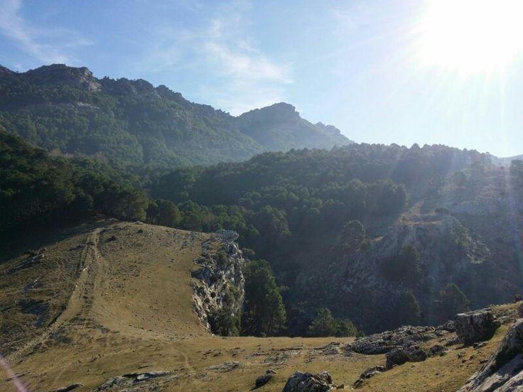 La Mocha,  en La Iruela , Sierra de Cazorla.
