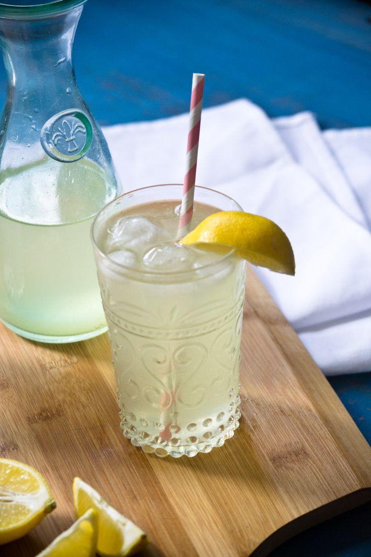 A sweet, lemony flavoured homeade lemonade with a slight tartness