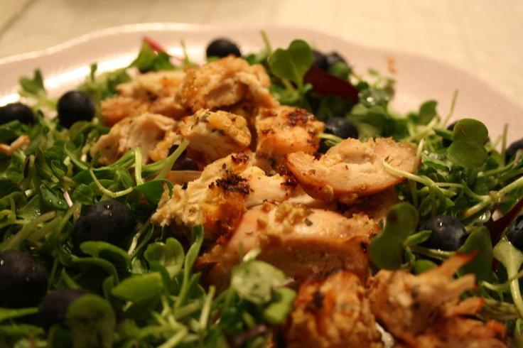 Chicken Salad with Blueberries