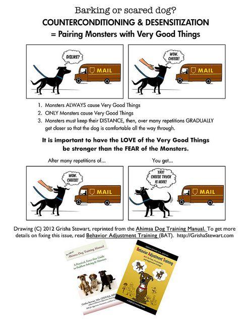 The Ahimsa Dog Training Manual | Counter-conditioning & desensitization