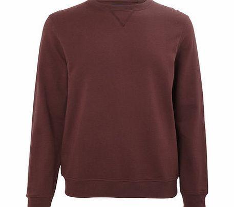 Bhs Dark Red Crew Neck Sweatshirt, BURGUNDY Long sleeved dark red plain crew neck sweatshirt. 100% Cotton. Machine washable. http://www.comparestoreprices.co.uk/mens-clothing-accessories/bhs-dark-red-crew-neck-sweatshirt-burgundy.asp