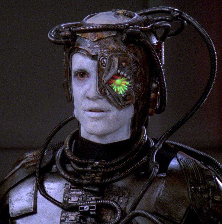 "Hugh, formerly Third of Five (Jonathan Del Arco): ""I, Borg"" - Star Trek: The Next Generation"