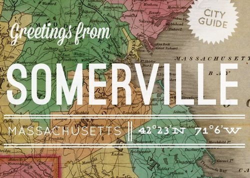 Exploring home is fun too! Somerville Guide from Design*Sponge