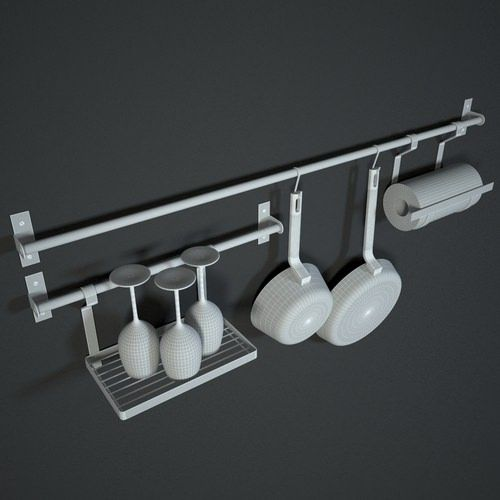 Ikea Kitchen Hooks: 1000+ Images About Stainless Steel Kitchen Shelf Rail And