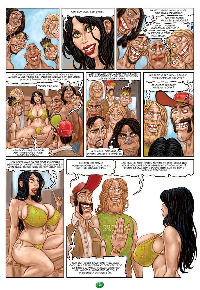 Xxx video porno bande dessinée