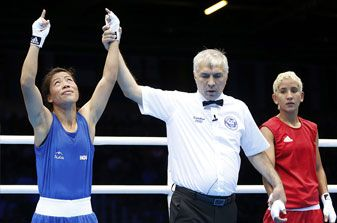 Mary Kom ensures best medal haul for India  #TeamIndia
