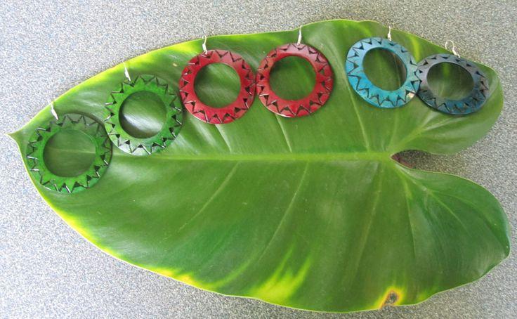 Accessories : Coconut Hoop Earrings