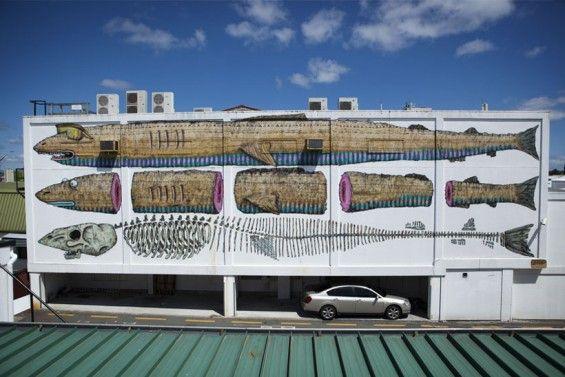BMD street art.  Fish. 000