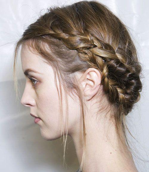 Fall 2013 Hair Trend: Braids (Viktor & Rolf)