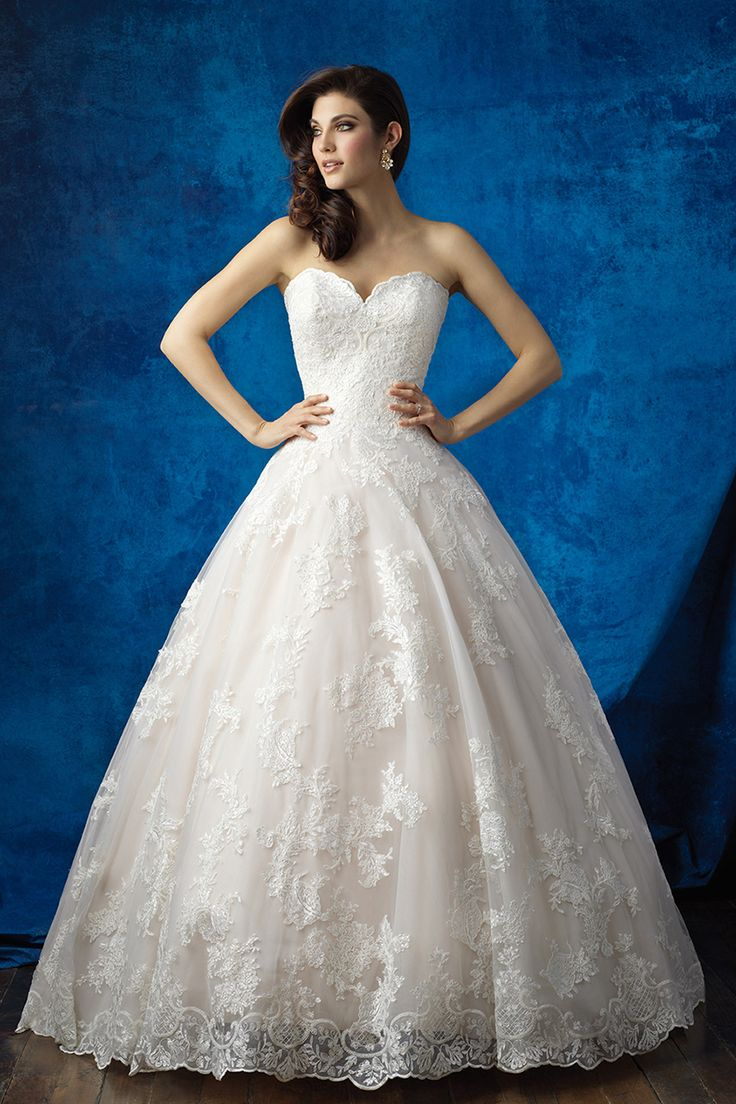 Bridal water lily 2226 wedding dresses photos brides com - Wedding Gown By Allure Bridals