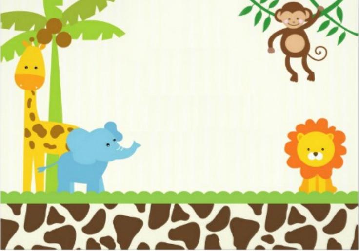 safari invite template invitations Pinterest Safari