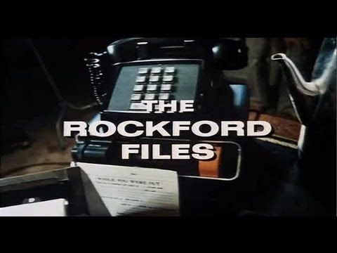 THE ROCKFORD FILES (1974-1980; NBC, USA; theme by Mike Post) A great TV theme; it won a Grammy Award in 1975. James Garner as Rockford had a kind of incredulous comic elan mixed with manliness that no longer seems to exist. Tom Selleck as Magnum P.I. would next assume that mantle (see also that theme song). (KevinR@Ky)