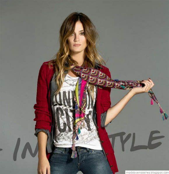 Moda y Tendencias en Buenos Aires : VOV JEANS MODA OTOÑO INVIERNO 2012: Campaña con Pa...