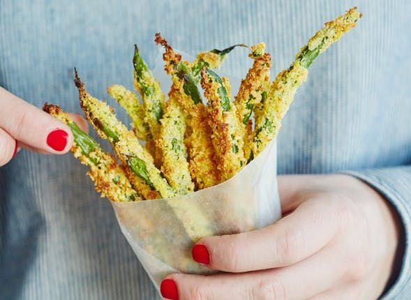 Green bean fries are a modern miracle. They're green! They're kinda healthy! They're fries!