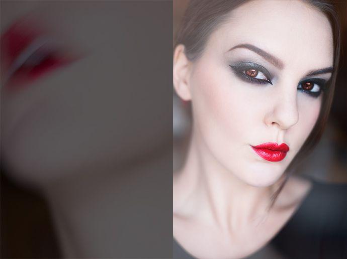 molkan skönhetsblogg vampire diva vampyr makeup sminkning halloween motd