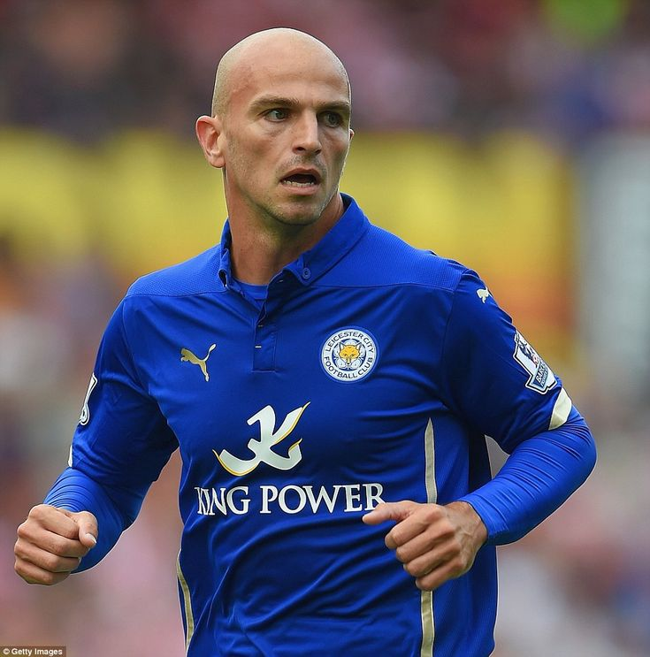 Sept. 13th. 2014: Esteban Cambiasso came on at half time against Stoke to make his first appearance for the Foxes following his switch from Inter Milan
