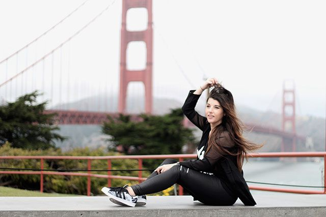 Outfit | Golden Gate Bridge