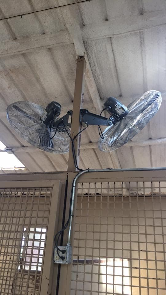 Horse Facility barn fans                                                                                                                                                                                 More