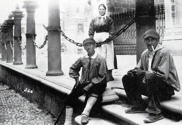 Salamanca en el ayer: tipos serranom candido ansede