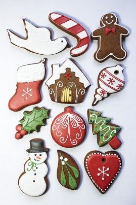 12 christmas biscuits