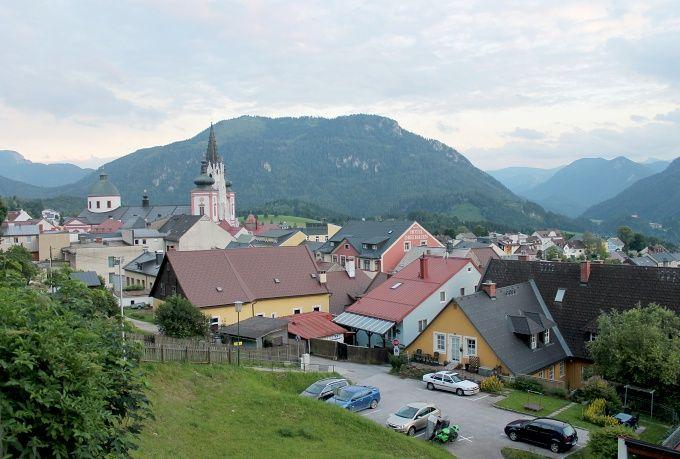 gather moments : Mariazell a jezero Erlaufsee