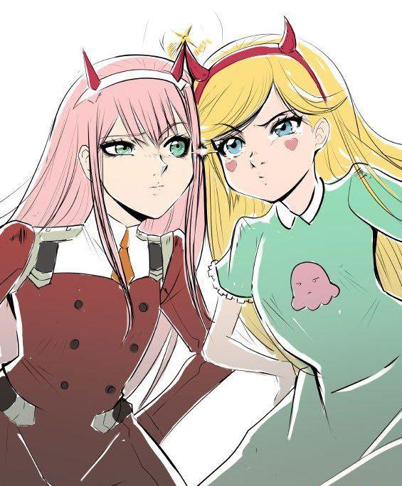 zyeℝo T𝔴o On Twitter Anime Stars Evil Anime Star Butterfly