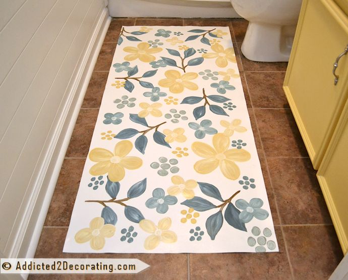 193 best images about floor ed on pinterest flooring for Painted vinyl floor cloth