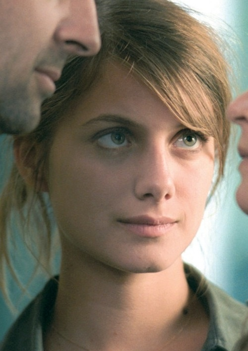 Melanie Laurent is one of those evil, evil women who look so good without makeup, that when they do wear it, it somehow diminishes their beauty. Evil.