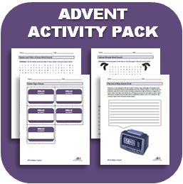 The Advent Activity Pack: Lesson Plans, Worksheets, Graphic Organizers, Activity Ideas, Prayers, Videos, and more!