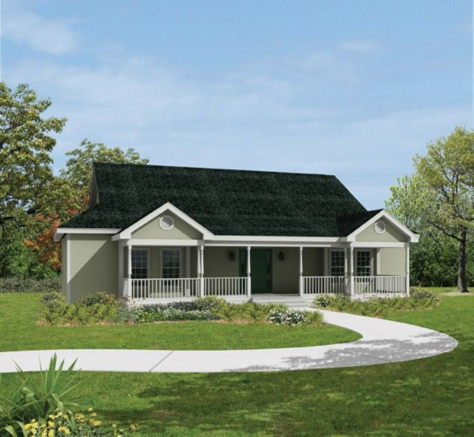 Eplans Farmhouse House Plan Perfect Harmony 1832