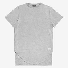 DOUBLE LAYER SCALLOP TEE