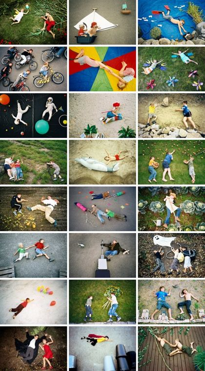 Creative Camera Play (kids can plan/set up)