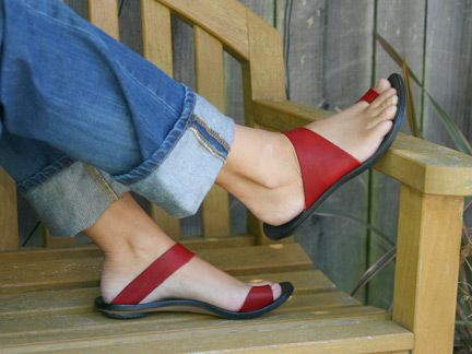 Cydwoq Thong Sandal.... dare I spend that much? They are perfect for me... those actually look like my feet!