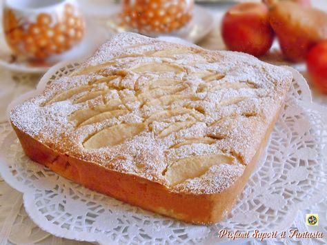 Torta soffice con pere mele e succo di arance Blog Profumi Sapori & Fantasia