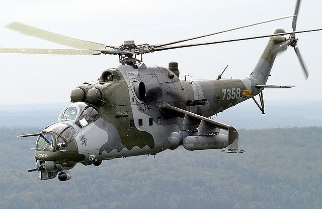 The Mil Mi-24 Attack Helicopter http://modelaeroplanes.net #Mil Mi-24 #attack helicopter