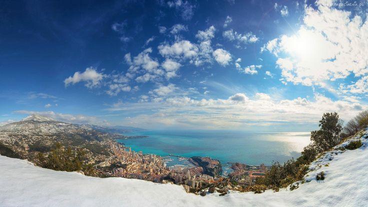 Góra, Miasto, Morze, Wybrzeże