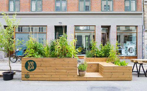 Les 34 meilleures images du tableau projet participatif for Jardin urbain green bar
