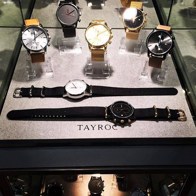Purchase one of Antoine & Stanley's chic timepieces and pay for it later with ZipPay