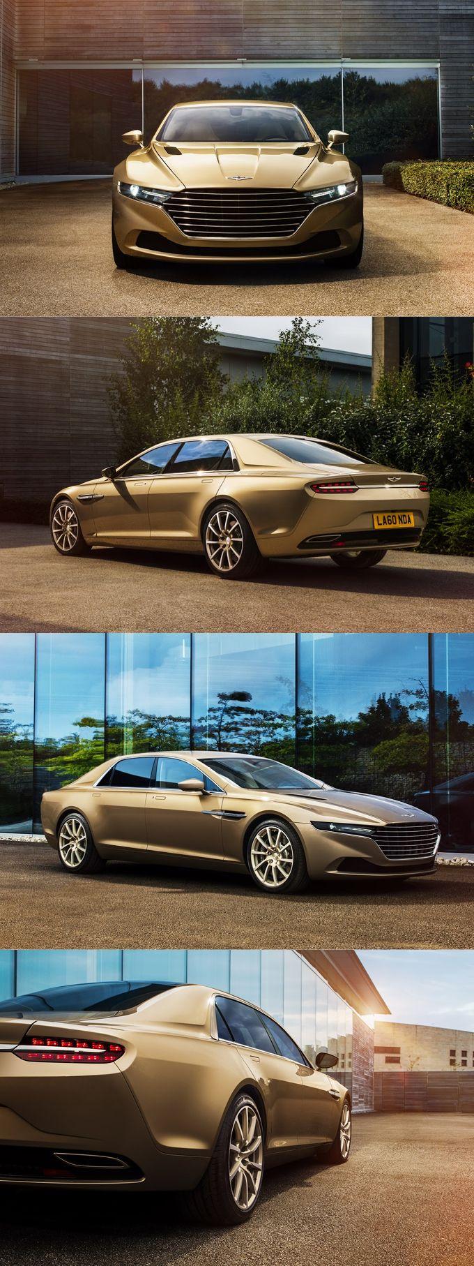 2015 Lagonda Taraf / beige / UK / Aston Martin / 6.0l 12 / Marek Reichman / 17-344