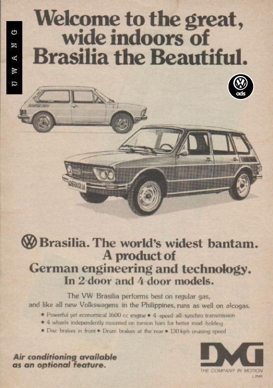 VW Brasilia AD