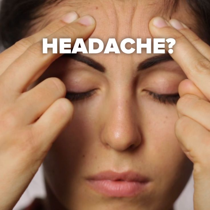 Pressure Points for Aches and Pains // #headache #pressurepoints #selfcare #massage