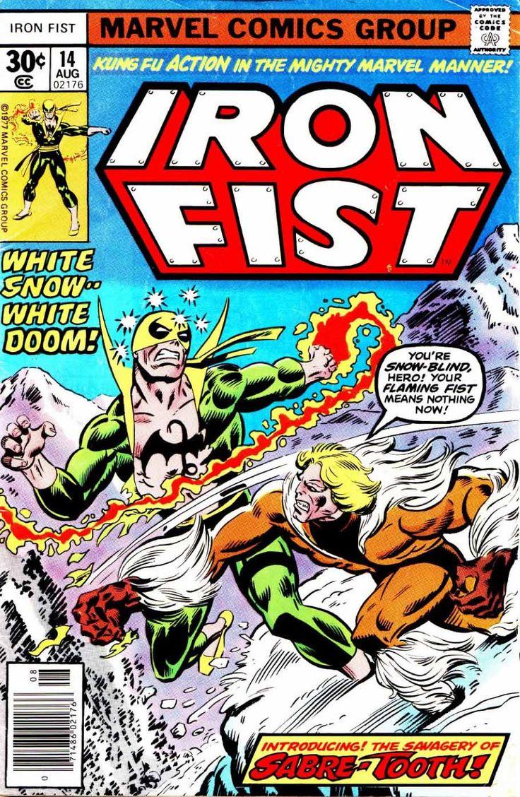 Iron First #14 Iron Fist vs Sabretooth! 1A: Sabretooth ...